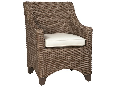 Whitecraft Augusta Wicker Dining Arm Chair