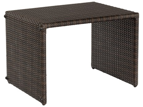 Whitecraft All Weather Wicker 22 Square Universal C End Table PatioLiving