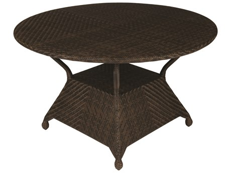 Whitecraft Boca Wicker 48 Round Dining Table