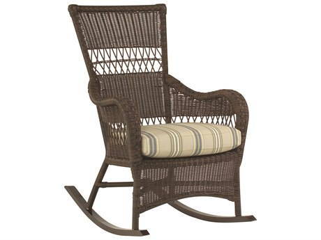 Whitecraft Sommerwind Wicker Rocker Lounge Chair