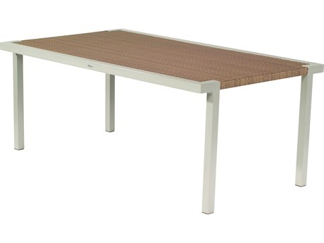 Whitecraft All Weather Wicker Sheridan 72 x 42 Rectangular Dining Table