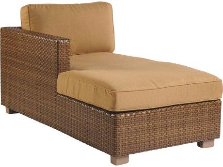 Whitecraft Sedona Wicker Left Chaise Lounge