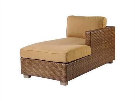 Whitecraft Sedona Wicker Right Chaise Lounge