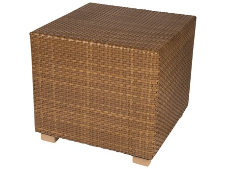 Whitecraft Sedona Wicker 28 Square End Table