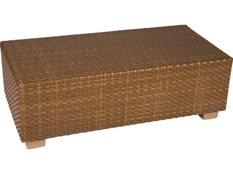 Whitecraft Sedona Wicker 44 x 22 Rectangular Coffee Table