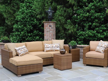 Whitecraft Sedona Wicker Cushion Lounge Set