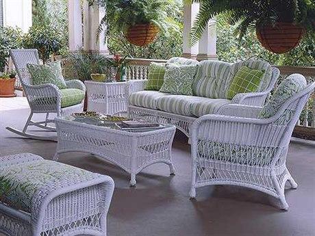 Whitecraft Sommerwind Wicker Lounge Set - Woodard Sommerwind - Whitecraft Collection