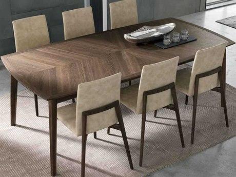 Yumanmod Bloom Heat-Treated Oak Veneer 86.6'' x 43.3'' Rectangular Dining Table