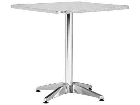 Zuo Outdoor Christabel Aluminum 27.5 Square Table