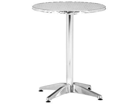 Zuo Outdoor Christabel Aluminum 23.5 Round Dining Table