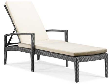 Zuo Outdoor Phuket Wicker Chaise Lounge