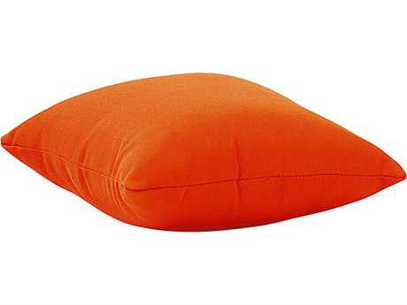 Zuo Outdoor Laguna Small Outdoor Pillow in Orange