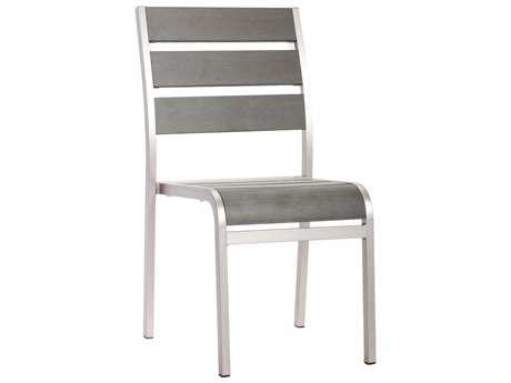 Zuo Outdoor Township Aluminum Dining Armless Chair