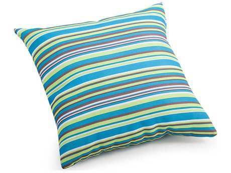 Zuo Outdoor Puppy Small Outdoor Pillow in Multicolor Stripe