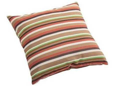 Zuo Outdoor Hamster Small Outdoor Pillow in Brown Base Multistripe
