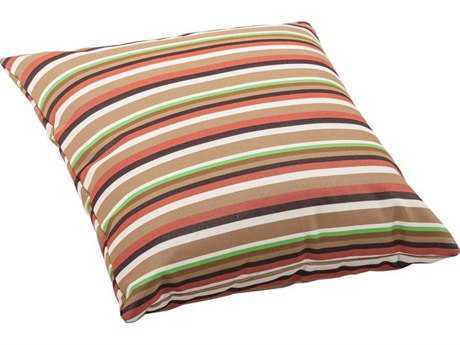 Zuo Outdoor Hamster Large Outdoor Pillow in Brown Base Multistripe
