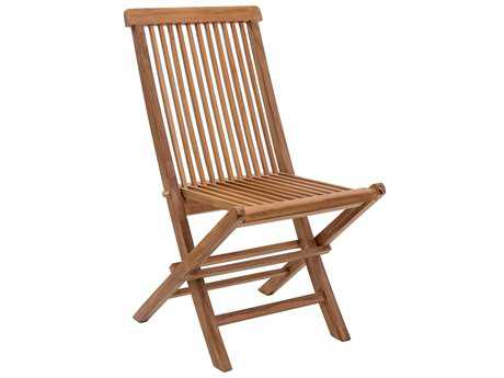 Zuo Outdoor Regatta Teak Folding Chair in Natural (Sold in 2)