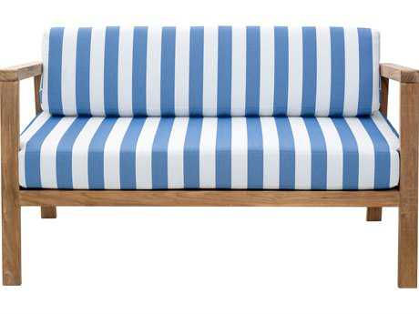 Zuo Outdoor Bilander Teak Sofa in Natural