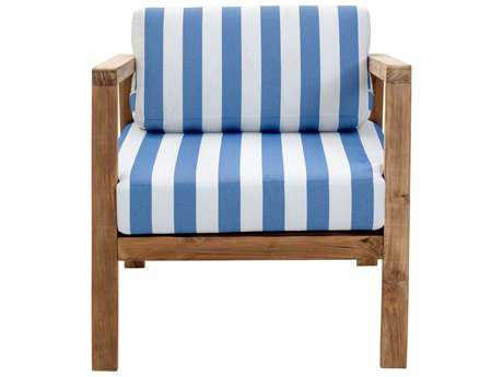 Zuo Outdoor Bilander Teak Arm Chair in Natural