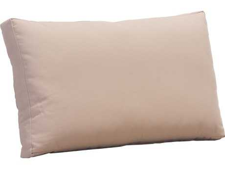 Zuo Outdoor Glass Beach Back Cushion in Taupe