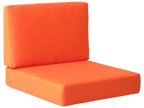 Zuo Outdoor Cosmopolitan Arm Chair Cushion in Orange