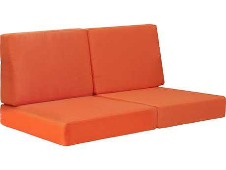 Zuo Outdoor Cosmopolitan Sofa Cushion in Orange