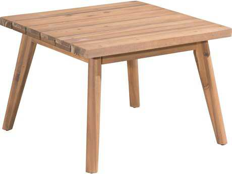 Zuo Outdoor Grace Bay Acacia Wood 23.60 Square Side Table in Natural