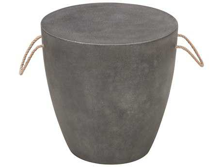 Zuo Outdoor Dad Stool in Cement