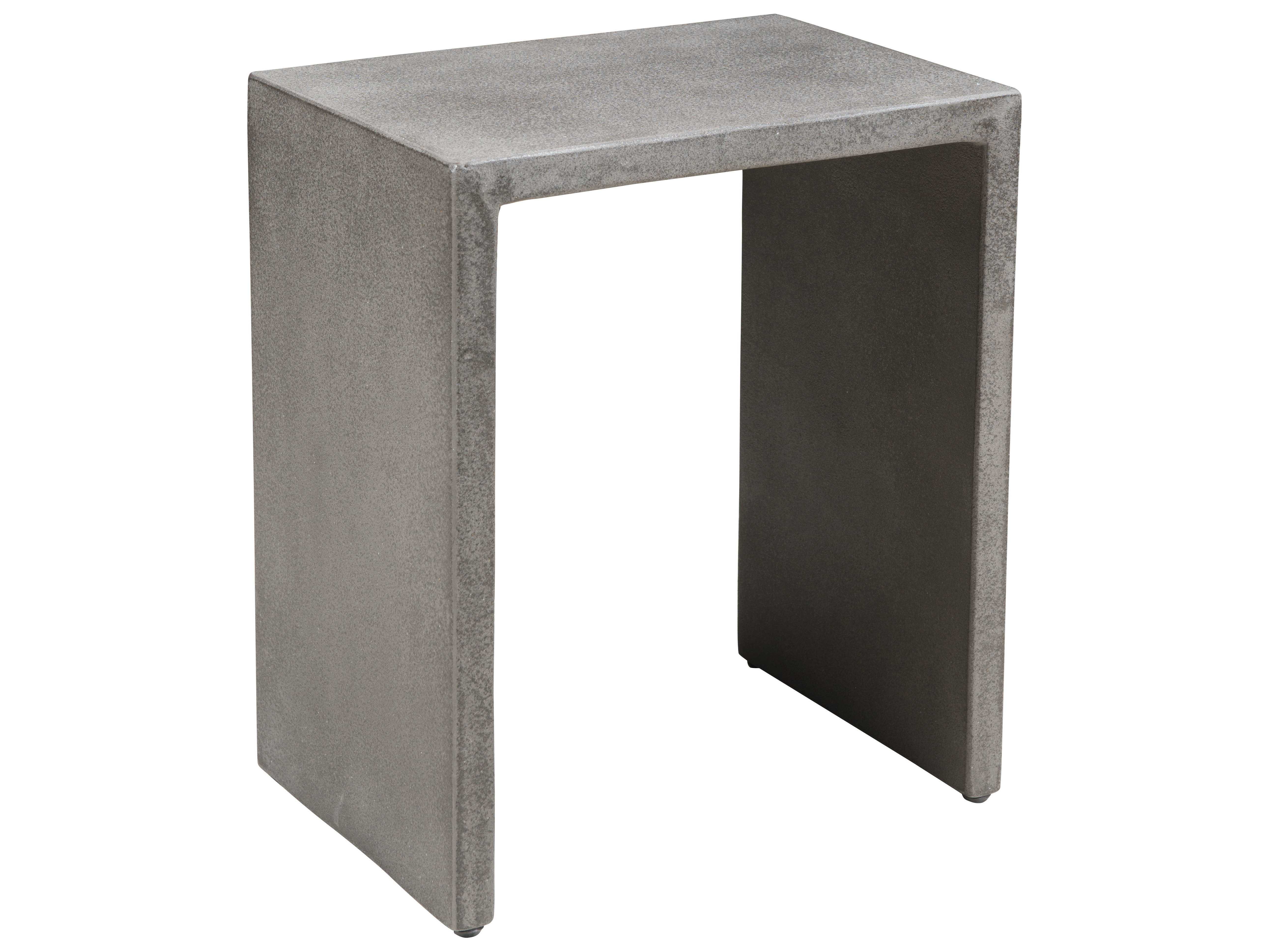 Genial ... Zuo Outdoor Mom Poly Cement 16.5 X 12.3 Rectangular Nesting Side Table  In Cement ...