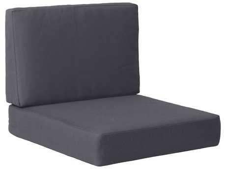 Zuo Outdoor Cosmopolitan Arm Chair Cushion Dark in Gray PatioLiving