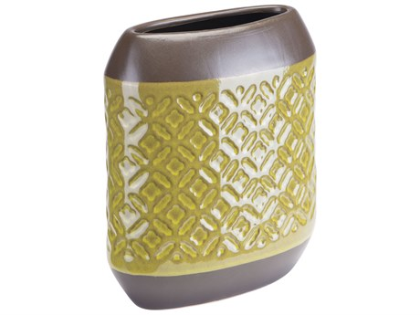 Zuo Outdoor Small Square Planter Olive Green