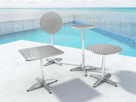 Zuo Outdoor Christabel Aluminum Casual Table Set