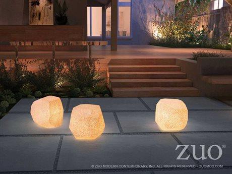 Zuo Outdoor Fame Illuminated Stool Set