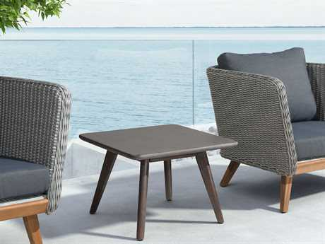 Zuo Outdoor Grace Bay Wood Synethetic Weave Conversation Lounge Set