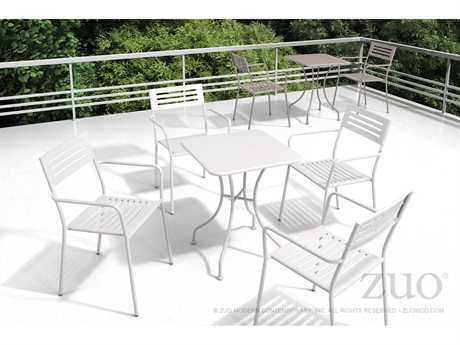 Zuo Outdoor Wald Steel Dining Set