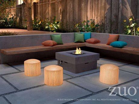 Zuo Outdoor Wassu lluminated Stool