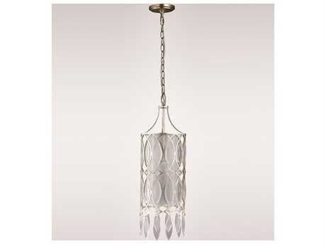 Zeev Lighting Maxine Silver Leaf Pendant
