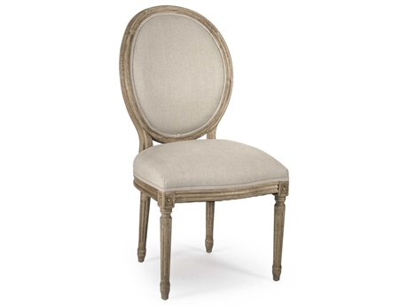 Zentique Natural Oak Side Dining Chair ZENB004E255A003