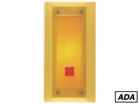 A19 Lighting Jewel Singularity ADA Wall Sconce A1G2CADA