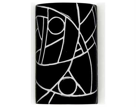 A19 Lighting Mosaic Picasso Wall Sconce
