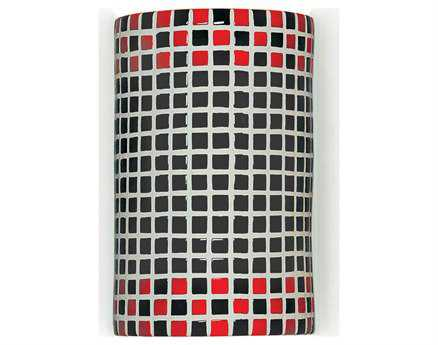 A19 Lighting Mosaic Checkers Wall Sconce