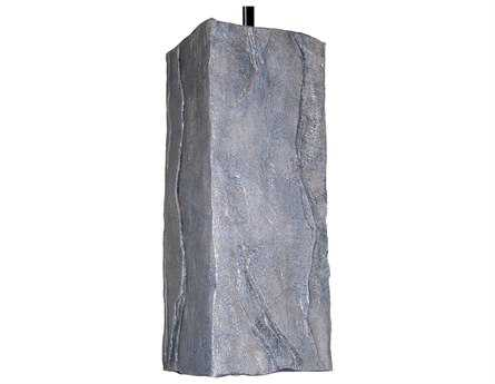 A19 Lighting Nature Stone Grey Pendant A1PN18011GR