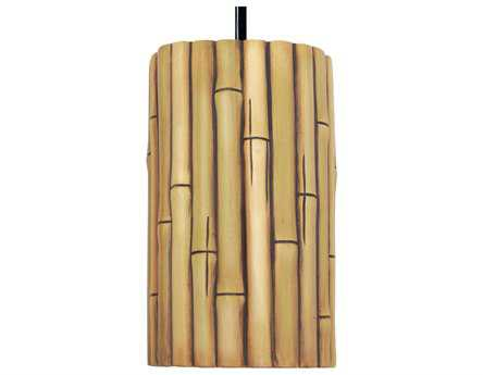 A19 Lighting Nature Bamboo Natural Pendant A1PN20301NA