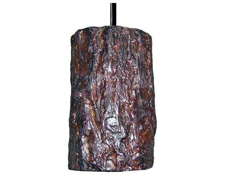 A19 Lighting Nature Bark Pendant A1PN20302