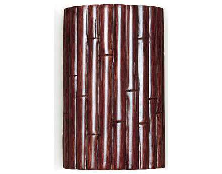 A19 Lighting Nature Bamboo Cinnamon Wall Sconce A1N20301CI