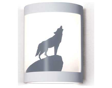 A19 Lighting Silhouette Lone Wolf Wall Sconce A1F200H
