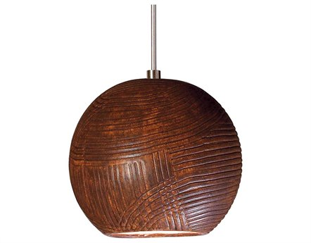 A19 Lighting Studio Twine Butternut Mini-Pendant Light with Mono-Point Canopy A1LVMP01