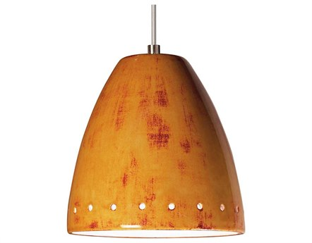 A19 Lighting Studio Realm Desert Blaze Mini-Pendant Light with Mono-Point Canopy A1LVMP02
