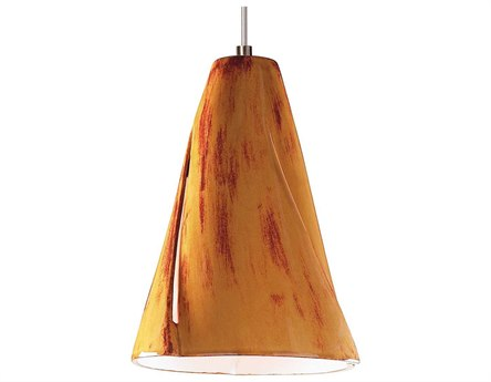 A19 Lighting Studio Whirl Desert Blaze Mini-Pendant Light with Mono-Point Canopy A1LVMP05