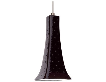 A19 Lighting Studio Eiffel Black Gloss Mini-Pendant Light with Mono-Point Canopy A1LVMP14
